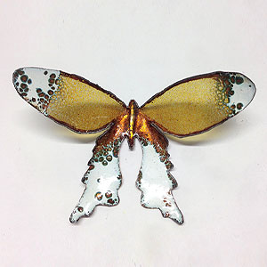 Image of enamelled butterfly